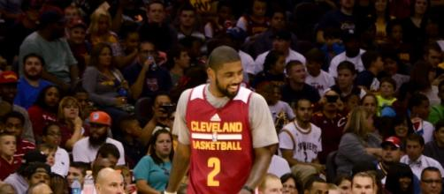After being a crucial part of the Cavs' recent success, star point guard Kyrie Irving requested a trade. Erik Drost / Flickr Creative Commons