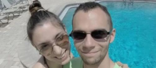 Capotorto Vitantonio with his wife in an undated photo - YouTube/SecureNews