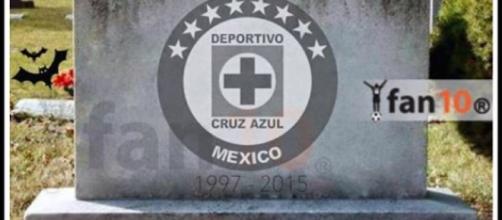 """Carlos Reyes - sopitas.com """"Aquí yacen las esperanzas de ver a Cruz Azul Campeón"""""""