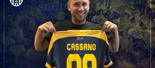 Cassano rescinde il contratto con il Verona- ristorifrancesco.com