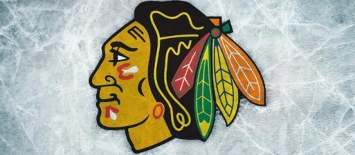Chicago Blackhawks logo via Flickr.