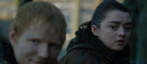 Game of Thrones' Ed Sheeran scene was important for Arya ...Image - Ryan R - YouTube