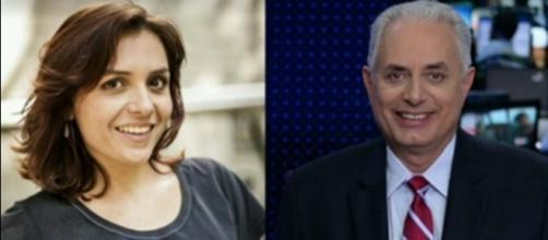 Monica Iozzi faz críticas a jornalista da Globo