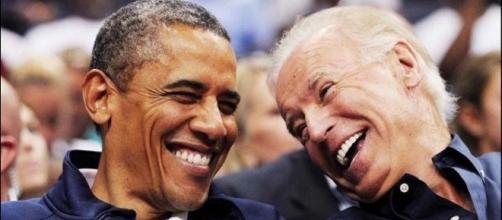 President Obama and Joe Biden's Bromance   Video.Me/YouTube