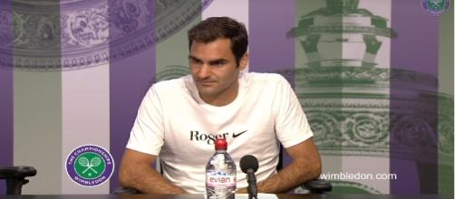 Roger Federer/ Photo: screenshot via Wimbledon official channel on YouTube