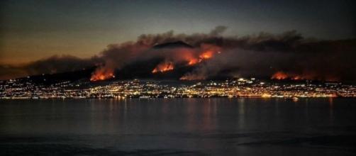 Roghi sul Vesuvio: via Facebook ph. Diego Ambruoso