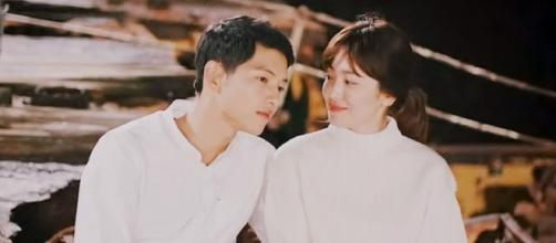 Song Joong Ki And Song Hye Kyo/ Image - FC International Song Hye Kyo / YouTube