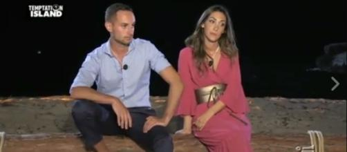 Temptation island - Ruben e Francesca al falò