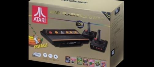 The Atari Flashback 8 Gold | credit, AtGames Flashback Zone, YouTube