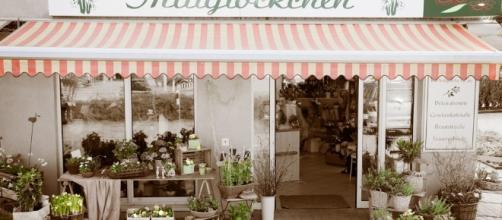 uno dei tanti negozi di fiori vietnamiti a Berlino