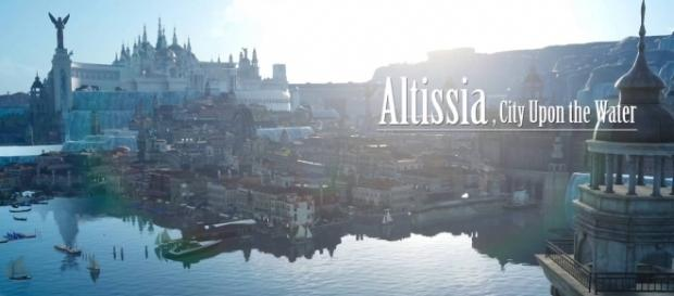 Altissia would make for a perfect stage in 'Dissidia Final Fantasy NT' (image credit: YouTube/Final Fantasy XV)