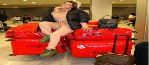 Dani Souza e suas 23 malas rumo a Ucrânia