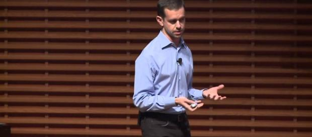 Jack Dorsey defends Trump's use of Twitter. Photo via Stanford School of Business, YouTube screencap