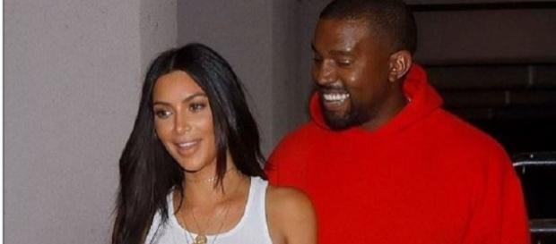 Kim Kardashian com maridão Kayne West