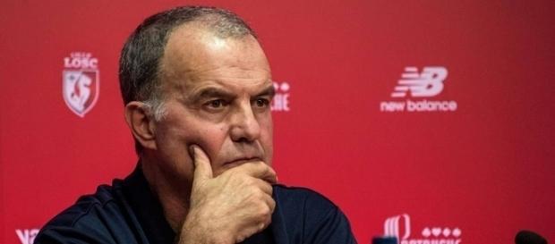 Marcelo Bielsa entrenador del Lille OSC de Francia