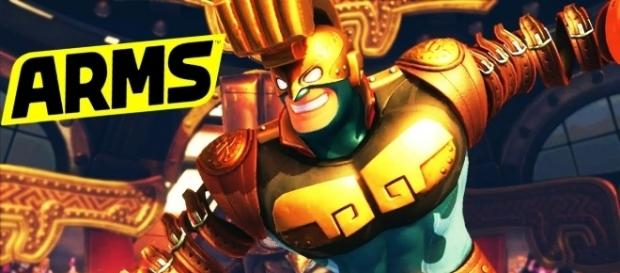 MAX BRASS - A NEW CHALLENGER!? || Arms Nintendo Switch | Nindawko/YouTube