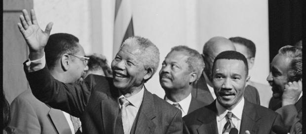Nelson Mandela remembered on his 99th birthday. (Maureen Keating/Wikimedia)