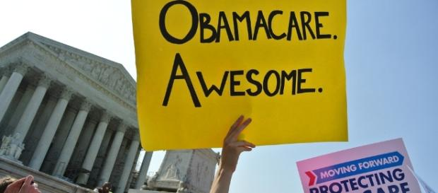 Obamacare on the steps of the Supreme Court | Will O'Neill | Flickr - flickr.com