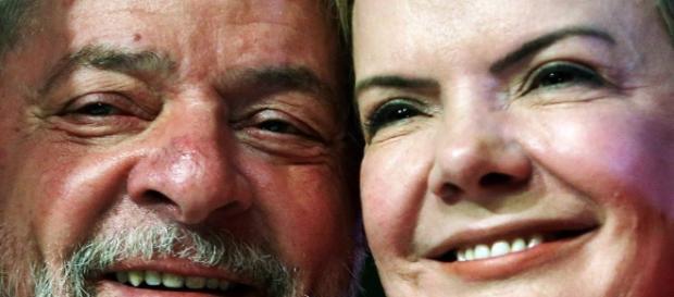 Para senadora, Lula é vítima da direita e de Moro (Foto: Reprodução)