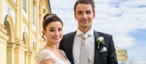 Tempesta d'amore Il matrimonio di Adrian e Clara