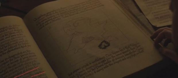 The hidden clue in Sam's forbidden book. Image - Bella 19 - YouTube