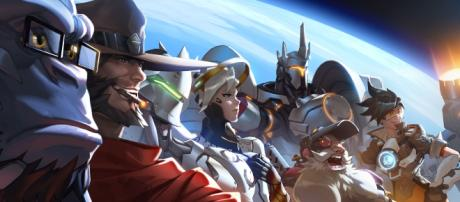 Characters from Blizzard's 'Overwatch'. Source: https://blizzard.gamespress.com/Overwatch