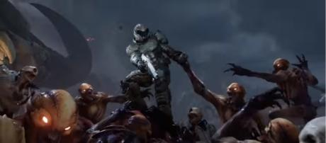"""""""Doom"""" gets update 6.66 with all DLCs unlocked - YouTube/Bethesda Softworks"""