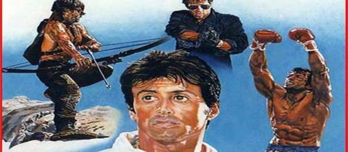 A fan made picture for Sylvester Stallone's possible sequels. I own this picture.