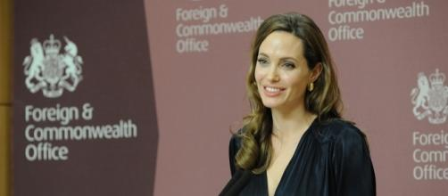 Angelina Jolie reveals dramatic details about her struggles after her split with Brad Pitt. Photo via Foreign and Commonwealth Office, Flickr