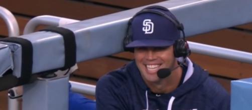 Clayton Richard of the Padres - MLB via YouTube