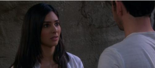 """""""Days of Our Lives"""" spoilers: Gabi busts Chad in a lie, Huge fight erupts. (Image Credit: YouTube screengrab)"""