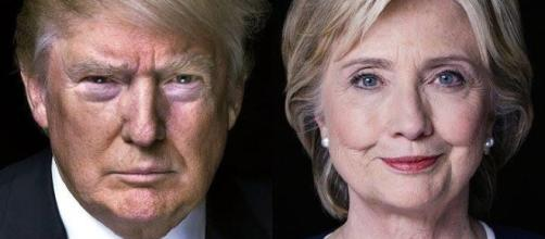 Donald Trump and Hillary Clinton (Flickr)
