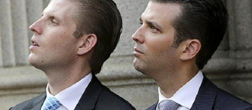 Donald Trump, Jr. and Eric Trump (Photo credit: Rehtuaxela via Flickr.com)