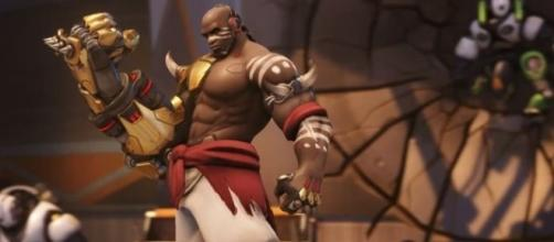 """How to play Doomfist in """"Overwatch."""" Image Credit: ohnickel / YouTube"""
