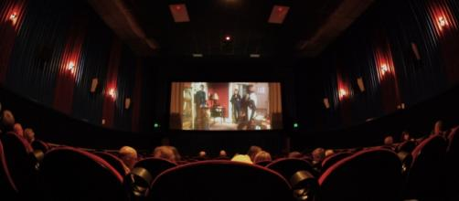 In a movie theater (courtesy of Flickr).