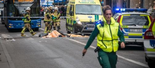 In Sweden, the trend of using vehicles as low tech terror attack plowing into people (Image by Frankie Fouganthin/Wikimedia Commons)