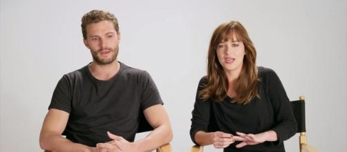 Jamie Dornan and Dakota Johnson - Glamour Magazine/YouTube Screenshot