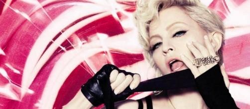 Madonna blocks her worn panties and 21 other items from auction block. Photo: Youtube screenshot, Hard Candy Video