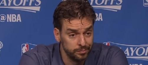 Pau Gasol expressed intention to return to the Spurs on a long-term deal -- Ximo Pierto Official via YouTube