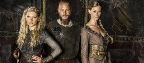 Ragnar Lothbrok, Lagertha e Aslaug.