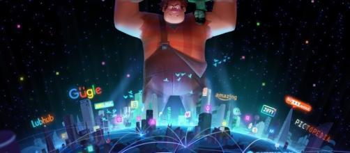 'Ralph Breaks The Internet: Wreck-It Ralph 2' Concept Art - [Image source: Disney Youtube Screen grab]