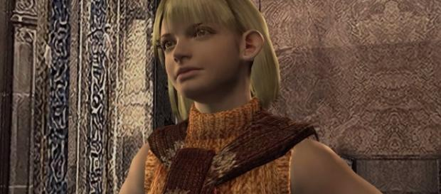 Ashley Graham from 'Resident Evil 4' is one of the most annoying partners in video games (image source: YouTube/Shirrako)