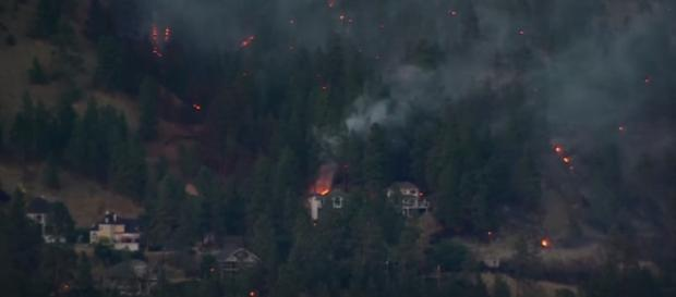 B.C. Wildfires: CBC Vancouver News special coverage/ Photo via YouTube/ CBC News