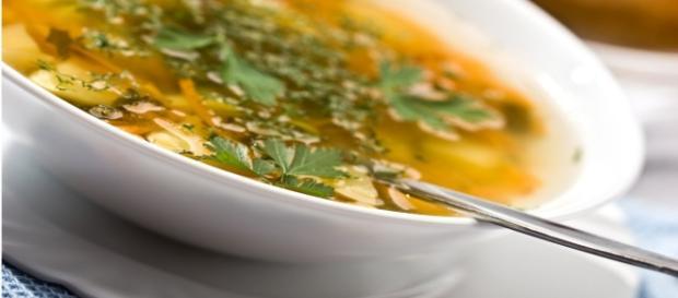 Dieta da sopa de baixa caloria. (Foto: Google)