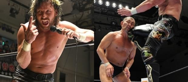 Kenny Omega arrancó bien la defensa de su trofeo de G1 Climax. njpw.co.jp.