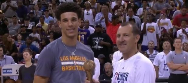 Lozon Ball is the MVP at this year's Las Vegas Summer League - YouTube/Chris Smoove
