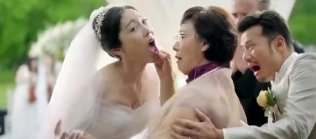 Photo controversial Audi commercial causes outrage photo capture from YouTube/South China Morning Post