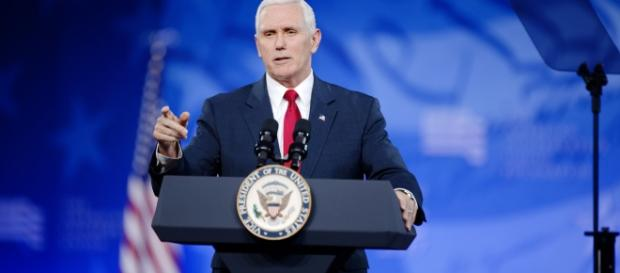 US Vice President Mike Pence sided with the Baltic countries (Image: flickr/Michael Vadon)