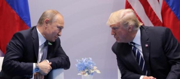 Vladimir Putin e Donald Trump: durante il G20 di Amburgo avrebbero avuto un colloquio segreto oltre a quello ufficiale