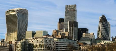 The skyline of London, epicentre of many recent developments